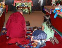 Tenzin manyah teaching